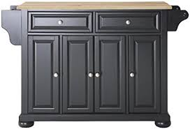 crosley furniture kitchen island amazon com crosley furniture alexandria kitchen island with