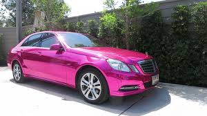 black and pink mercedes mirror chrome 100 reflection with no blur silver gtr chrome pink