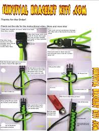 make survival bracelet images Survival bracelet instructions includes cord buckles type iii jpg
