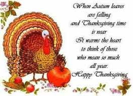 happy thanksgiving poems quotes thanksgiving