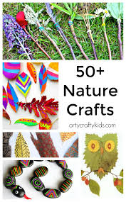 50 nature crafts for kids arty crafty kids