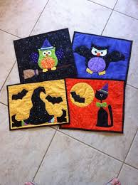 25 unique halloween placemats ideas on pinterest quilted table