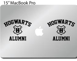hogwarts alumni sticker harry potter decal hogwarts alumni car window bumper wall vinyl