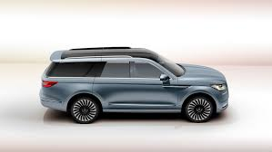 lincoln supercar lincoln surprises everyone with new navigator concept