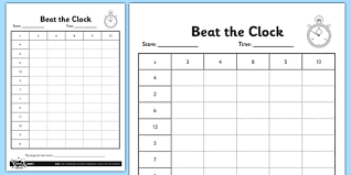 times table grid grade 3 beat the clock editable times tables grid tables