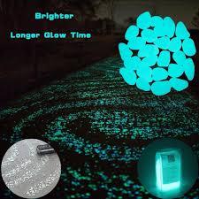 glow stones 200 pcs glow in the garden pebbles glow stones rocks for