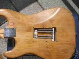 how to identify an original pre cbs fender stratocaster body