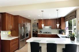Copper Kitchen Light Fixtures Copper Kitchen Lighting Fixtures G Shaped Layout 1 Light Pendant