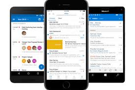 android outlook app microsoft outlook for ios android gets 3 useful calendar features