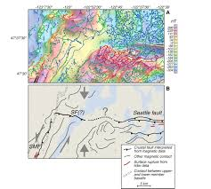 Fault Lines United States Map by Saddle Mountain Fault Deformation Zone Olympic Peninsula