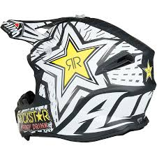 rockstar energy motocross gear airoh new mx 2017 twist rockstar matte black white motocross dirt