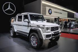 lifted mercedes sedan mercedes maybach g650 landaulet revealed limited to 99 units