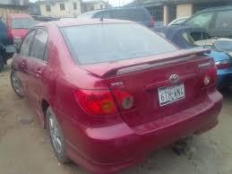 lexus convertible for sale in nigeria super clean direct belgium tokunbo 2003 toyota corolla sport