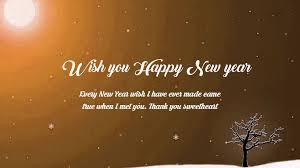 happy new year wishes messages for friends and family