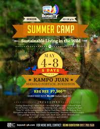 5 day summer camp for senior kids ages 12 16 u2013 beyond tv philippines
