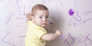 How To Remove Crayon From The Wall by How Do You Remove Crayon From Walls Image Titled Wipe With A Damp