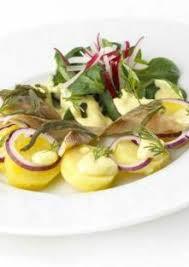 comment cuisiner le hareng fumé salade tiède de hareng fumé et salicorne