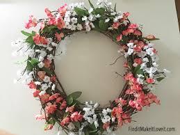 diy spring wreath find it make it love it