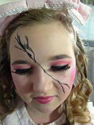 Doll Halloween Makeup Ideas by Omega Fashion Adjacent Halloween Makeup Ideas Cracked Doll
