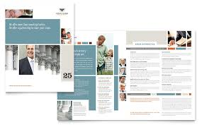family law attorneys brochure template word u0026 publisher