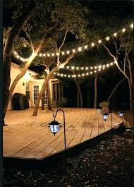 String Lights Outdoor Walmart Backyard String Lighting Outdoor Lights Patio Ideas Walmart