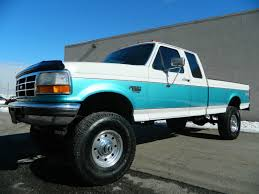 lifted 1995 ford f250 supercab longbed xlt 4x4 5 speed manual 7 3