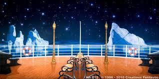 prom backdrops na012 titanic deck 2