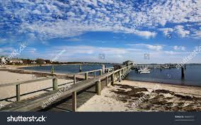 beach boat dock near kennedy compound stock photo 78969715