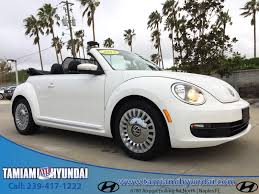 volkswagen bug 2013 volkswagen beetle convertible in florida for sale used cars on