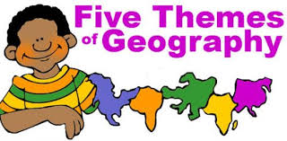 5 themes of geography proprofs quiz