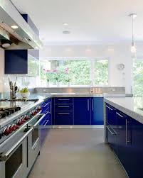 electric blue kitchen cabinets 80 cool kitchen cabinet paint color ideas noted list