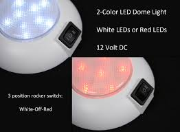 12 volt red led lights 2 color dome light white red pilotlights net
