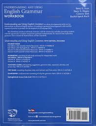 understanding and using english grammar workbook betty s azar
