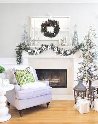 Red And White Christmas Decorations Ireland by 182 Best Christmas Winter Silver White Images On Pinterest