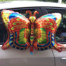 large birthday balloons cheap new insect foil balloon butterfly happy birthday party