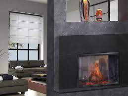 indoor outdoor gas fireplace see through cozy indoor outdoor