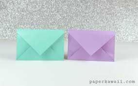 how to make an origami envelope letter