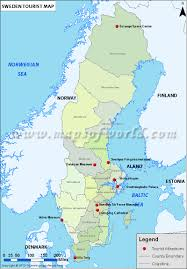 Map Of Dc Area Sweden Travel Guide Map Information Facts Tourist Destinations