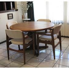 teak dining room chairs mid century danish modern teak dining