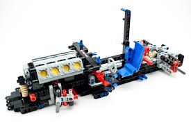 lego technic truck review 42041 race truck rebrickable build with lego