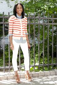 preppy for women over 50 how to wear white jeans without becoming a stain magnet photos