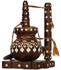 indian home decoration items wholesale 6 4 u201d handmade miniature model of an indian butter churn