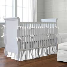 All White Crib Bedding Archive By Crib Clotheshops Us