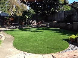 Patio Grass Carpet Grass Turf Heber California Paver Patio Backyard Landscape Ideas