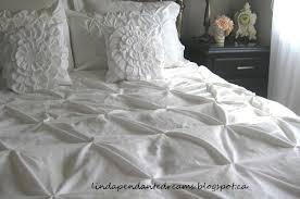 lindapendante dreams pin tuck duvet cover