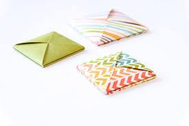 How To Fold Envelope Origami Square Envelope U2013 I Try Diy