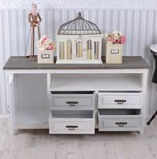 shabby chic tv u0026 entertainment stands ebay