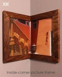 corner picture frame interior design wrap around corner picture frames woodworking for mere mortals