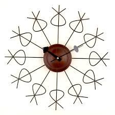 Modern Wall Clocks Mid Century Modern Wall Clocks The Foundary Hayneedle