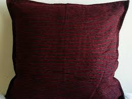 Accent Sofa Pillows by Decorative Throw Pillow Covers 16x16 Red Black Indian Discovered